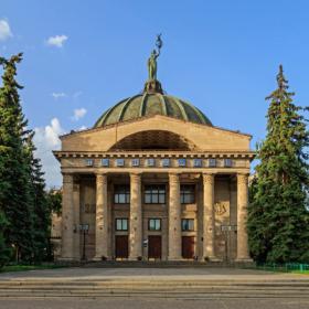 Здание планетария в Волгограде / Planetarium in Volgograd, Russia / © A.Savin CC BY-SA 4.0, FAL