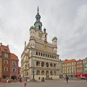 Ратуша в Познани, Великопольское воеводство / Town hall in Poznań, Greater Poland / © A.Savin CC BY-SA 4.0, FAL