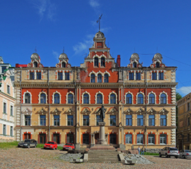 Здание городского музея в Выборге / Town Museum building in Vyborg, Leningrad Oblast, Russia / © A.Savin CC BY-SA 4.0, FAL