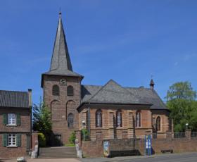 Церковь святого Ульриха в Керпене, Германия / St. Ulrich church in Kerpen, Germany /© A.Savin CC BY-SA 4.0, FAL