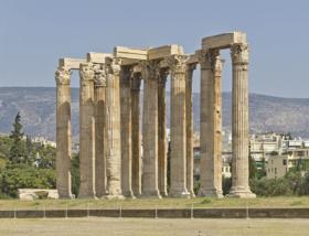 Храм Зевса Олимпийского в Афинах, Греция / Temple of Olympian Zeus in Athens, Greece / © A.Savin CC BY-SA 4.0, FAL