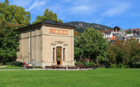 Питьевая галерея в Баден-Бадене, Германия / The pump house in Baden-Baden, Germany / © A.Savin CC BY-SA 4.0, FAL