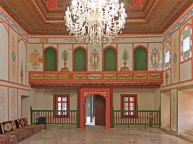 Диванный зал в Ханском дворце города Бахчисарай, Крым / The Divan Hall inside the Khan's Palace in Bakhchisaray, Crimea