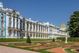 Екатерининский дворец в Царском Селе в Санкт-Петербурге / Catherine Palace in Tsarskoe Selo, Saint Petersburg / © Florstein CC BY-SA 4.0, FAL