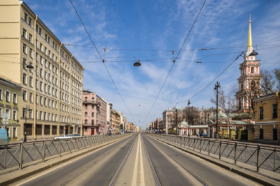 Перспектива Лиговского проспекта в Санкт-Петербурге / Ligovsky avenue in Saint Petersburg / © Florstein CC BY-SA 4.0, FAL