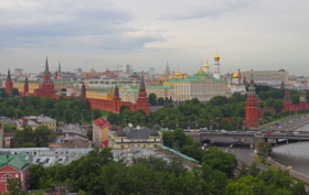 Вид на Московский кремль / View of the Moscow Kremlin / © A.Savin CC BY-SA 4.0, FAL