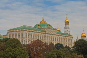 Большой Кремлёвский дворец в Москве / Grand Kremlin Palace, Moscow / © A.Savin CC BY-SA 4.0, FAL