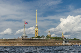 Peter & Paul fortress in Saint Petersburg