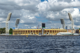 Petrovsky Football Stadium in Saint Petersburg