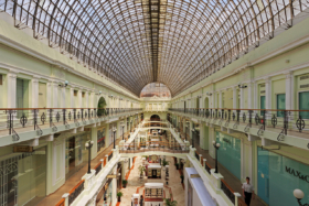 Галерея Петровского пассажа в Москве / Gallery of Petrovsky Passage in Moscow