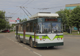 Троллейбус ЗиУ-682 в Подольске / Trollebus ZiU-682 in Podolsk, Russia / © A.Savin CC BY-SA 4.0, FAL