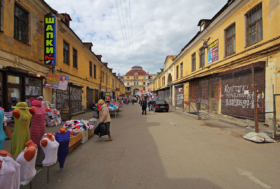 Апраксин двор в Санкт-Петербурге / Apraksin Dvor market in Saint Petersburg / © A.Savin CC BY-SA 4.0, FAL