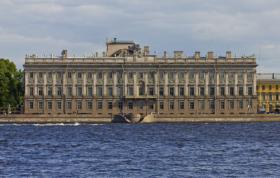 Мраморный дворец в Санкт-Петербурге /Marble Palace in Saint Petersburg / © A.Savin CC BY-SA 4.0, FAL