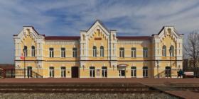 железнодорожный вокзал в городе Венёве, Тульской области / Venyov rail station, Tula Oblast, Russia / © A.Savin CC BY-SA 4.0, FAL
