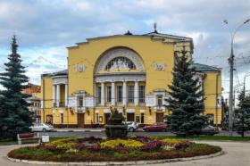 Театр драмы имени Волкова в Ярославле / Volkov Drama Theatre in Yaroslavl, Russia / © Florstein CC BY-SA 4.0, FAL