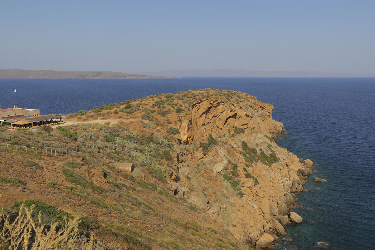 Cape Sounion. Attica, Greece