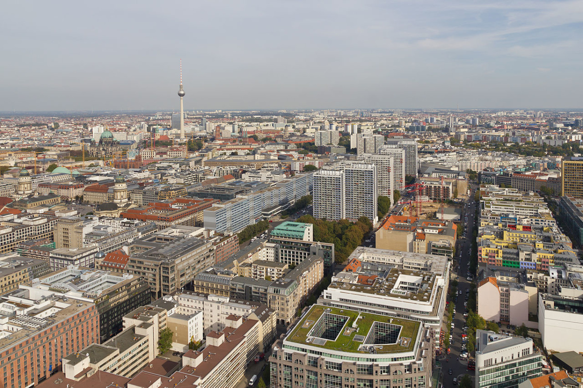 View from the Berlin Hi-Flyer