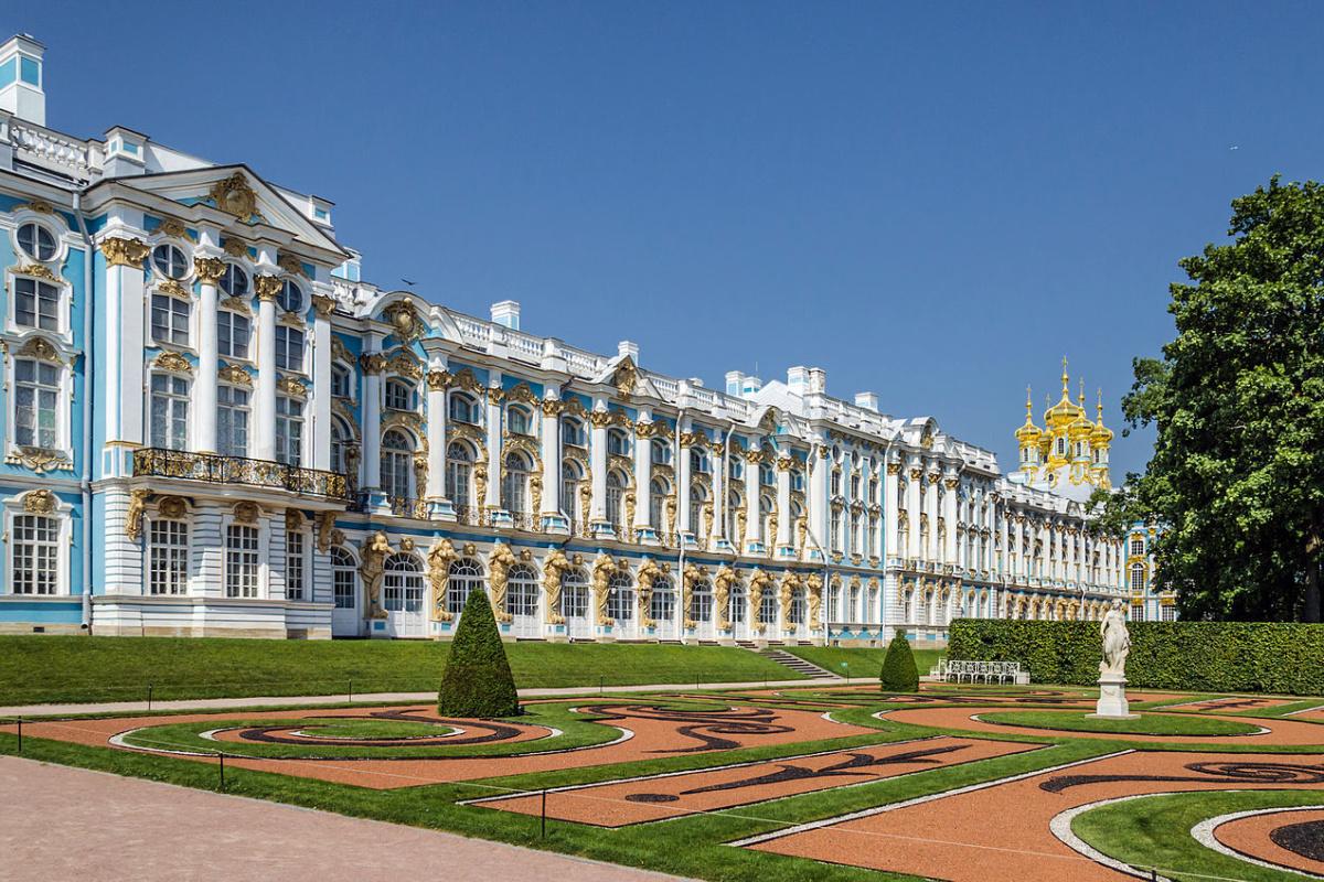 Екатерининский дворец в Царском селе, Санкт-Петербург / Catherine Palace in Tsarskoe Selo, Saint Petersburg