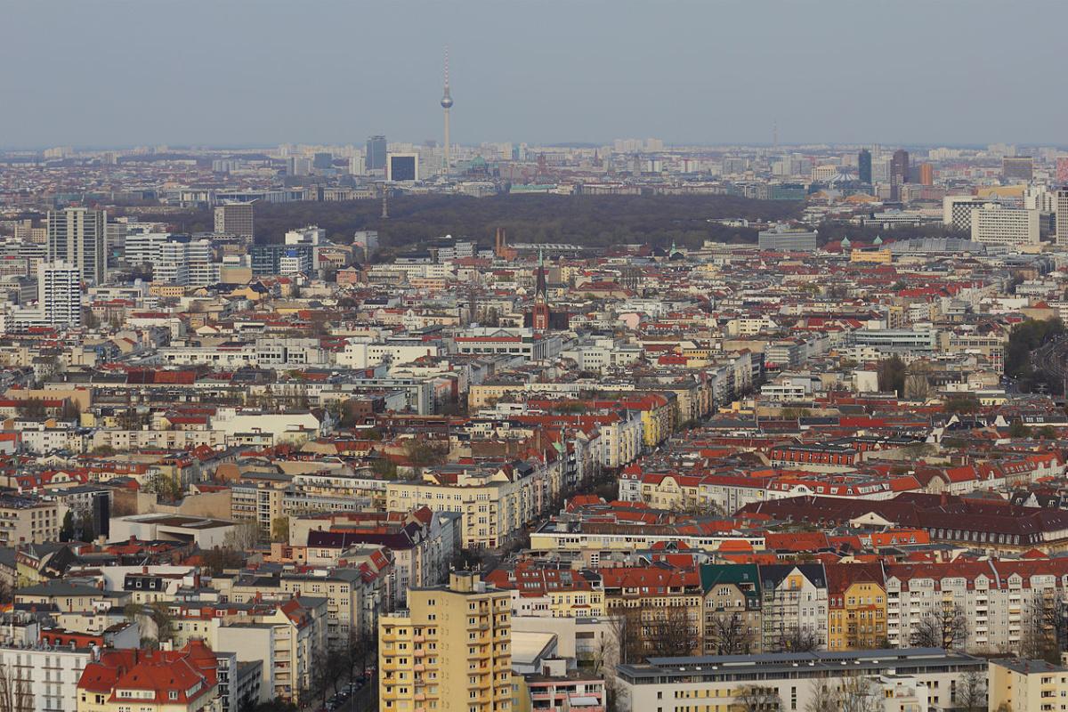 Вид на Берлин / Berlin view