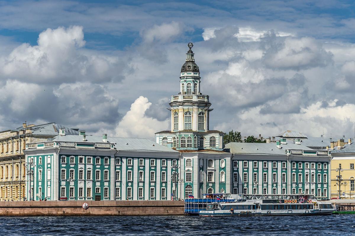 Кунсткамера в Санкт-Петербурге / Kunstkamera Museum in Saint Petersburg