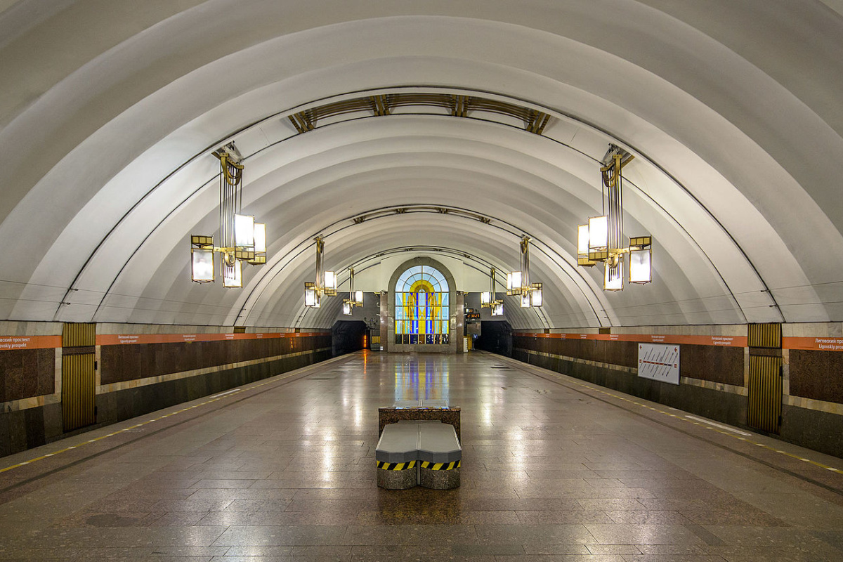 Ligovsky Prospekt station of Saint Petersburg Metro