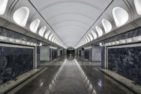 Dostoevskaya station of Moscow Metro