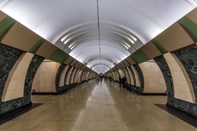 Maryina Roshcha station of Moscow Metro