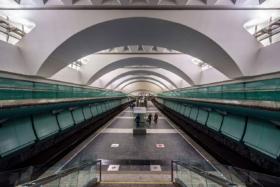 Zyablikovo station of Moscow Metro