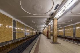 Krasnoselskaya station of Moscow Metro