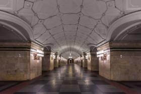Sportivnaya station of Moscow Metro