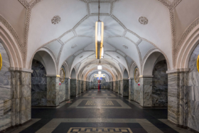 Park Kultury station of Moscow Metro