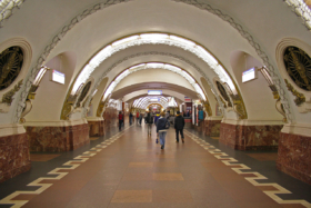 Ploschad Vosstaniya station of Saint Petersburg Metro