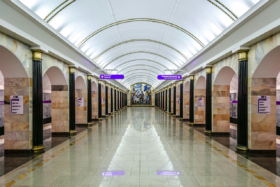 Admiralteyskaya station of Saint Petersburg Metro