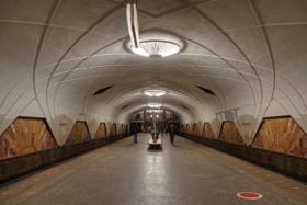 "Московский метрополитен, станция ""Аэропорт"" / Aeroport station of Moscow Metro / © A.Savin CC BY-SA 4.0, FAL"