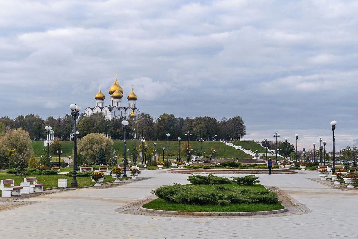 Стрелка в Ярославле / Yaroslavl, Strelka
