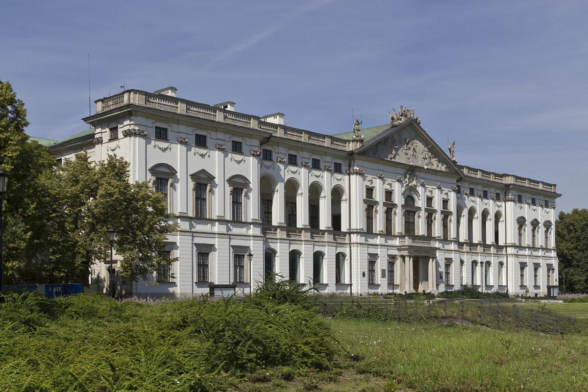 Krasiński Palace in Warsaw, Poland