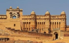 Форт Амбер в Джайпуре, Индия / Amber Fort in Jaipur, India