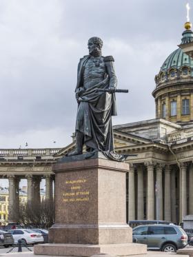 Памятник Михаилу Богдановичу Барклаю-де-Толли в Санкт-Петербурге / Monument to Michael Andreas Barclay de Tolly in Saint Petersburg