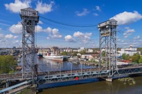 Двухъярусный мост в Калининграде / Reichsbahn Bridge in Kaliningrad / © A.Savin CC BY-SA 4.0, FAL
