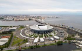 Стадион на Крестовском острове в Санкт-Петербурге / Krestovsky Stadium in Saint Petersburg / © A.Savin CC BY-SA 4.0, FAL