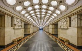 "Станция ""Электрозаводская"" Московского метрополитена / Elektrozavodskaya station of Moscow metro"